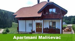 Apartmani Malisevac